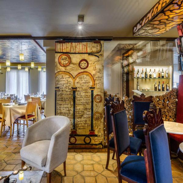 Sala y comedor Hotel la Casueña